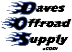 Daves Offroad Supply $50 Gift Certificate